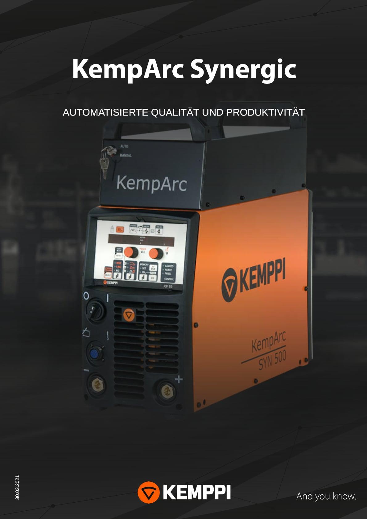 Schweißservice VT Bohmte - Kemppi KempArc Synergic